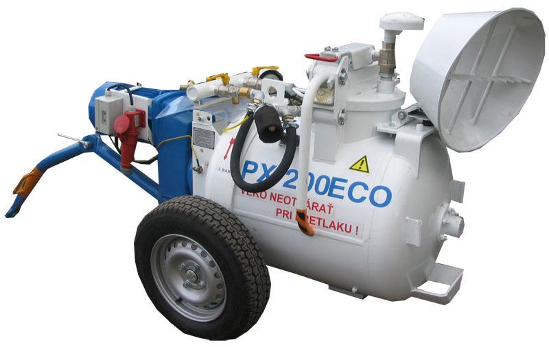 Бетононасос пневматический PNEUMIX PX 200 ECO словацкого производства в компании РВК в Москве. Компания РВК является официальным