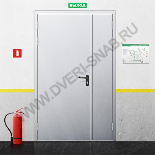 двери металлические противопожарные марка