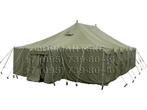 Унифицированная армейская брезентовая палатка УСБ-56.