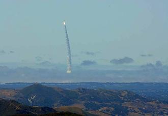 США ударили баллистической ракетой по Маршалловым островам
