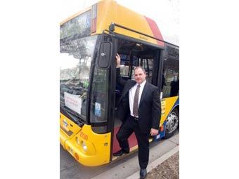 В Аделаиде запустили интернет-автобус
