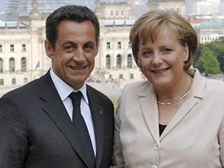 """Меркель и Саркози на саммите G20 в Питсбурге выступят """"единым фронтом"""""""