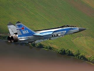 Украдены четыре из восьми предназначенных для Сирии истребителя МиГ-31Э