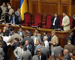 Украинских депутатов оставят без зарплаты за срыв работы Рады