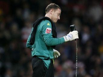 Вратарь английского клуба дисквалифицирован за допинг