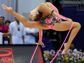Российская гимнастка выиграла два золота чемпионата мира
