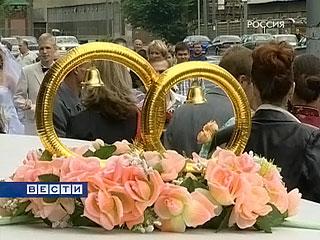 """В день """"трех девяток"""" в Москве ожидается свадебный бум"""