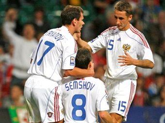 Сборная России победила Уэльс в отборочном матче ЧМ-2010