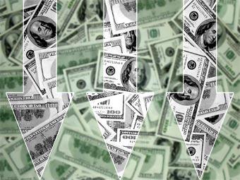 Курс доллара опустился до минимума с октября 2008 года