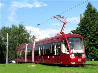Новосибирск приобрел новые белорусские трамваи