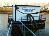 Плавучие насосные станции водоснабжения Иртыш – вода в городе навсегда