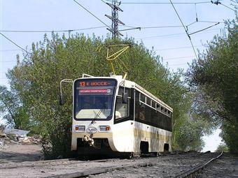 Маршрут 13 трамвая временно укоротят