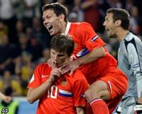 Россия вышла в четвертьфинал Евро-2008