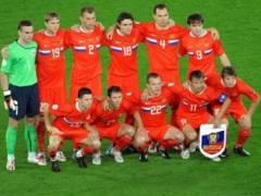 Сборной России вручили бронзовые медали Евро-2008