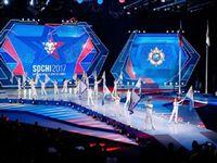 Россия выиграла Всемирные военные игры в Cочи и передала флаг Германии