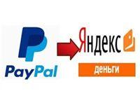 Вывод средств с PayPal на Яндекс.Деньги
