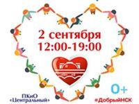 Информация о благотворительном фестивале «Добрый Новосибирск»