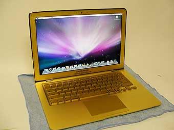 Американцы выпустили золотой Macbook Air