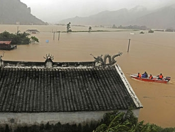 Миллион человек спасаются от тайфуна в Китае