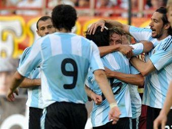 Сборная России по футболу проиграла Аргентине 2:3