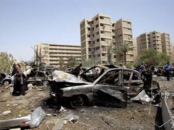 В результате нескольких взрывов в Багдаде погибли 75 человек