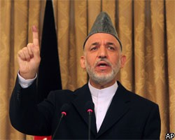 Избирательный штаб Х.Карзая объявил о победе на выборах